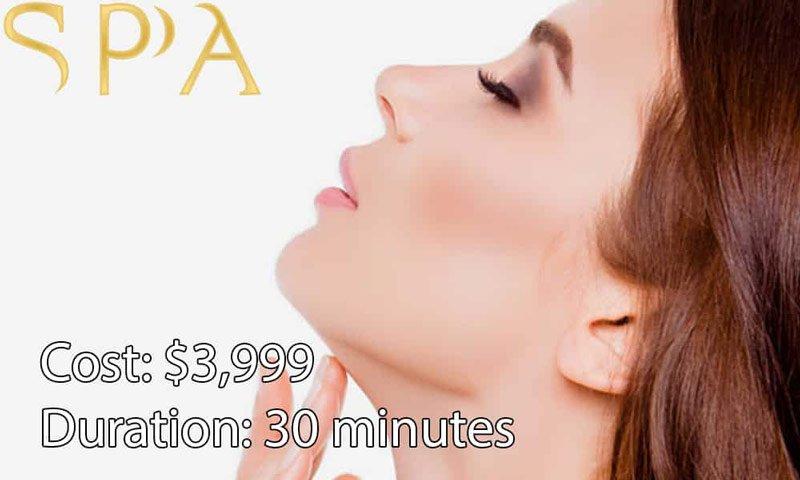 facial liposuction cost